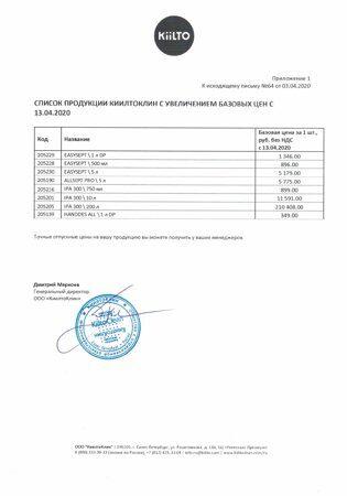 О повышении цен на дез. продукцию КиилтоКлин с 13.04.2020_Ind+PCH_page-0002